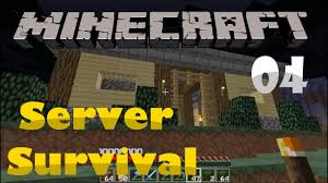 minecraft 1 10 server survival u2013 s1 episode 4 u2013 lets build a