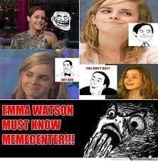 Emma Watson Meme - emma watson knows memecenter by recyclebin meme center