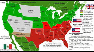 Images Of Usa Map by Abolition Of Slavery Map United States Youtube