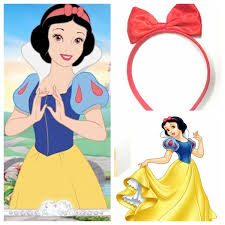 bow hair band clip big bow headband snow white accessories