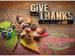 happy thanksgiving 2017 news pest solutions green pest
