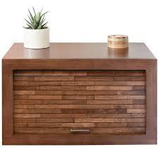 floating wall mount nightstand eco geo mocha ob 50 off