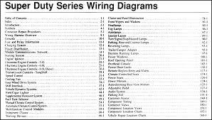 2006 ford f 250 thru 550 super duty wiring diagram manual original