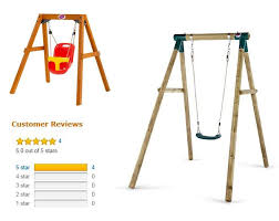 swing set for babies plum wooden baby swing set 2 great places to buy with real
