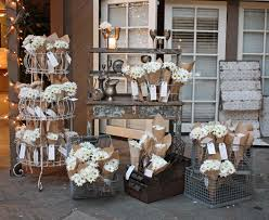 country vintage wedding amazing french flower bouquet display by