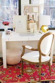 styling makes me happy the west elm parsons desk three ways