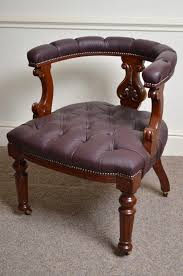 victorian mahogany office chair antiques atlas