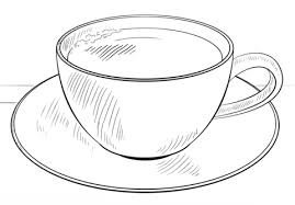 Cup Of Coffee Coloring Page Free Printable Coloring Pages Cup Coloring Page