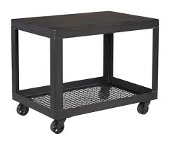 Industrial Kitchen Cart by Commercial Grade Furniture Industrial Utility Cart Crow Works