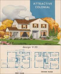 Colonial Revival House Plans 1923 Classic Colonial Revival Morgan Traditional House Plan