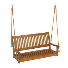 living accents 48in porch swing gliders and swings ace hardware