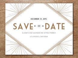 make your own save the date printable save the date deco roaring twenties gatsby and template