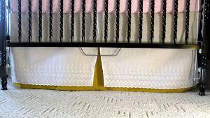 Jenny Lind Crib Mattress Size by Nursery Crib Skirt Reality Daydream
