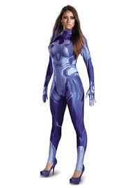 halo cortana bodysuit costume for women