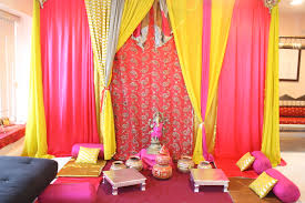 backdrop place in a clients home for pre wedding functions www