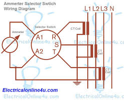 ammeter selector switch wiring diagram explanation electrical