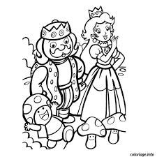 Coloriage roi et princesse  JeColoriecom