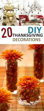 20 diy thanksgiving decorations