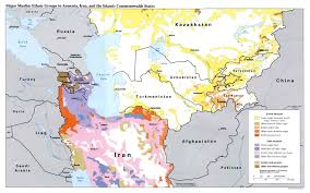 South Central Asia Map by Central Asia Maps Eurasian Geopolitics