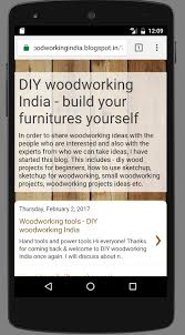 Woodworking Hand Tools India by Diy Woodworking India Build Your Furnitures Android Apps On