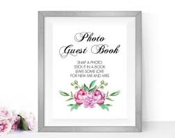 wedding guest book sign sign a heart printable wedding guest book sign heart