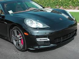 2010 porsche panamera turbo one owner low mileage stunning city