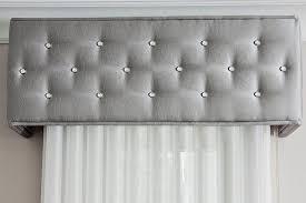 Button Valance Upholstery Savalan Window Decor