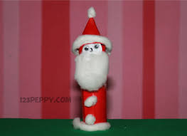 how to make simple santa claus 123peppy