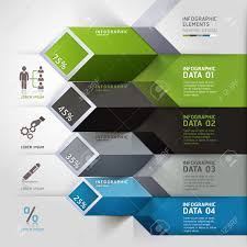 3d brochure design luxury abstract 3d infographics options royalty