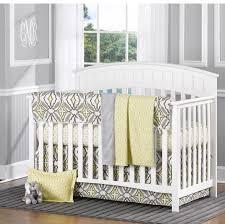Zig Zag Crib Bedding Set Nursery Beddings Gray And Yellow Zig Zag Crib Bedding Together