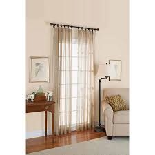 Window Length Curtains Better Homes And Gardens Satin Stripe 84