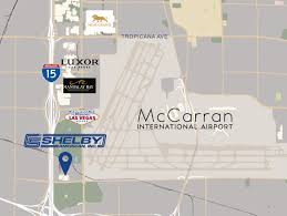 Las Vegas Blvd Map Shelby American Goes Global With New Headquarters And