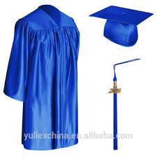 blue graduation cap royal blue child graduation cap gown tassel buy kids