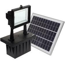 Solar Landscape Lights Home Depot by Reusable Revolution 5 Watt Black Solar Integrated Led Outdoor
