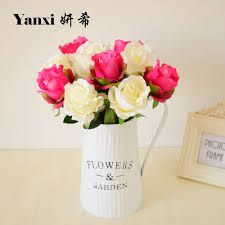Flowers Decoration For Home Online Get Cheap Flower Red Aliexpress Com Alibaba Group