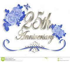 Silver Anniversary Invitation Cards Free 25th Wedding Anniversary Clip Art U2013 101 Clip Art