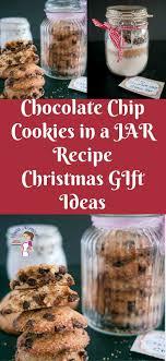 chocolate chip cookie in a jar gift ideas veena azmanov