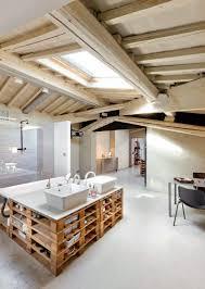 meuble de cuisine en palette meubles palettes en bois diy en 99 idées créatives pour plus d