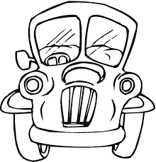 free car coloring pages