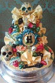 day of the dead wedding cake wedding cakes by jayne skull wedding cakes
