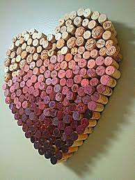 Heart Shaped Vase With Cork 50 Clever Wine Cork Crafts You U0027ll Fall In Love With Cork Heart