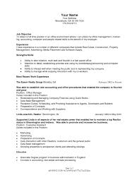 real estate resumes real estate administrator sle resume shalomhouse us