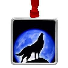belgian shepherd howling howling wolf hill blue moon ornaments u0026 keepsake ornaments zazzle