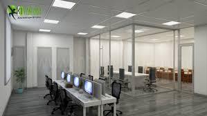 3d interior cgi design of commercial office interior 3d