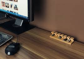 Making A Wooden Desktop by Wood Desk Cable Management U2014 All Home Ideas And Decor Desk Cable
