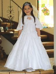 designer communion dresses satin organza embroidered communion dress w cape