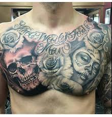 awesome chest tattoos chest