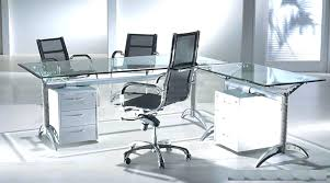 L Shaped Contemporary Desk L Shaped Glass Desk Glass L Shaped Desk Minimalist L Shaped Modern