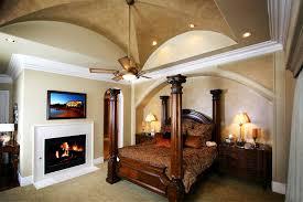 Mediterranean Bedroom Design by Greek Style Bedroom Brown Varnish Wood Master Bedroom Set White