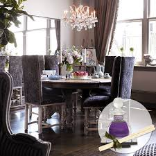 Purple Dining Chairs Design Ideas - Purple dining room